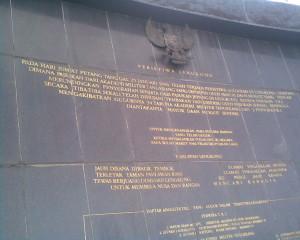 Peristiwa monumen lengkong