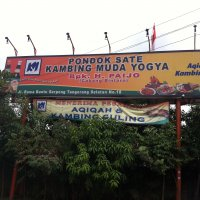 Rm Pondok sate kambing muda Yogya H paijo