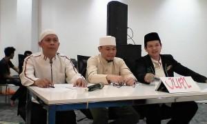 Para dewan juri lomba Adzan yang di selenggarakan PT Hero Group Tbk