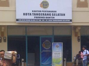 kantor bpn tangsel