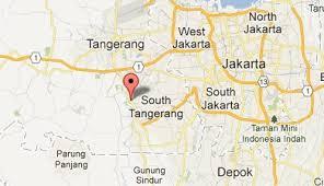 geografis tangsel