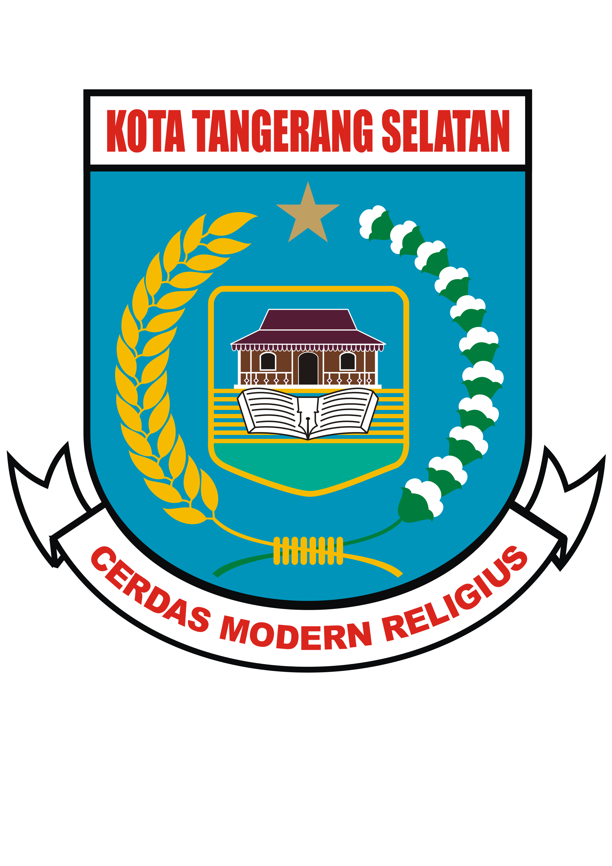 tangerang selatan logo