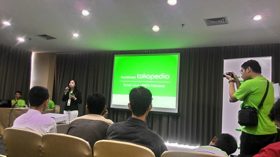 Tokopedia Meet Up Genpro Tangsel, Memulai Bisnis Online Gratisan
