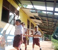 Kondisi 5.761 Ruang Kelas Sekolah di Pandeglang Rusak