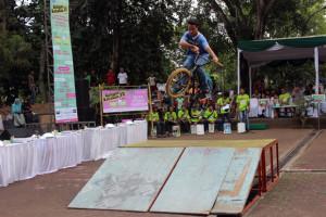Uji Adrenalin ala Komunitas UnFail BMX Kota Tangsel
