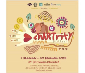 Press Release art charity tangsel-1