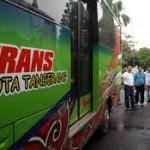 BRT Kota Tangerang telah Tiba di Pemkot Tangerang