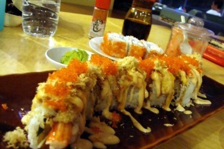 Sushi Naga, Kedai Sushi Barongsai Rasa Banzai
