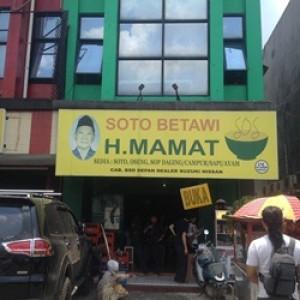 Sensasi Kuah Kaya Rasa Soto Daging H. Mamat