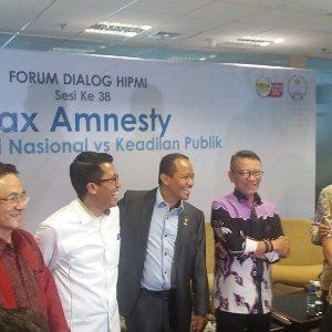 Forum Dialog HIPMI: Tax Amnesty –  Repatriasi Nasional vs Keadilan Publik