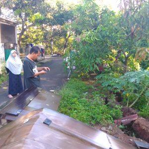 Deras Arus Sungai Angke Mengakibatkan Longsor di Kecamatan Serpong Utara