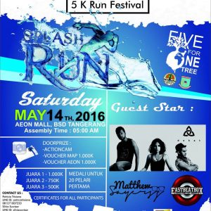 UPH Splash Run 5k