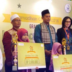 Meriahnya Lomba Dai'i Cilik Hiasi Ramadhan 1437 H oleh HERO Group