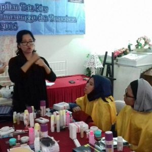 Kursus Make Up Disabilitas