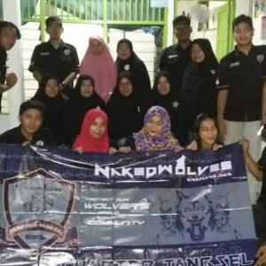 Sambut Bulan Ramadhan, Naked Wolves Indonesia Chapter Tangerang Selatan Gelar Bakti Sosial