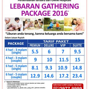 Lebaran gathering package Omni Hospital