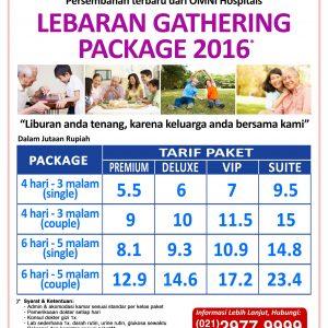 Lebaran gathering package Omni Hospital