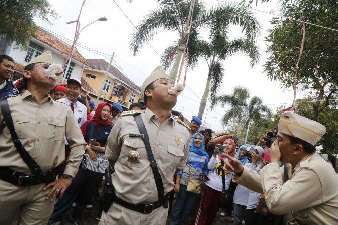Rangkaian Parade Lomba Kemerdekaan Versi Kota Tangerang