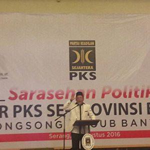 PKS Deklarasikan Dukung WH-Andika Maju Pilgub 2017