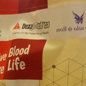 Give Blood Give Life, Kegiatan Rutin Donor Darah Ala Mal Alam Sutera