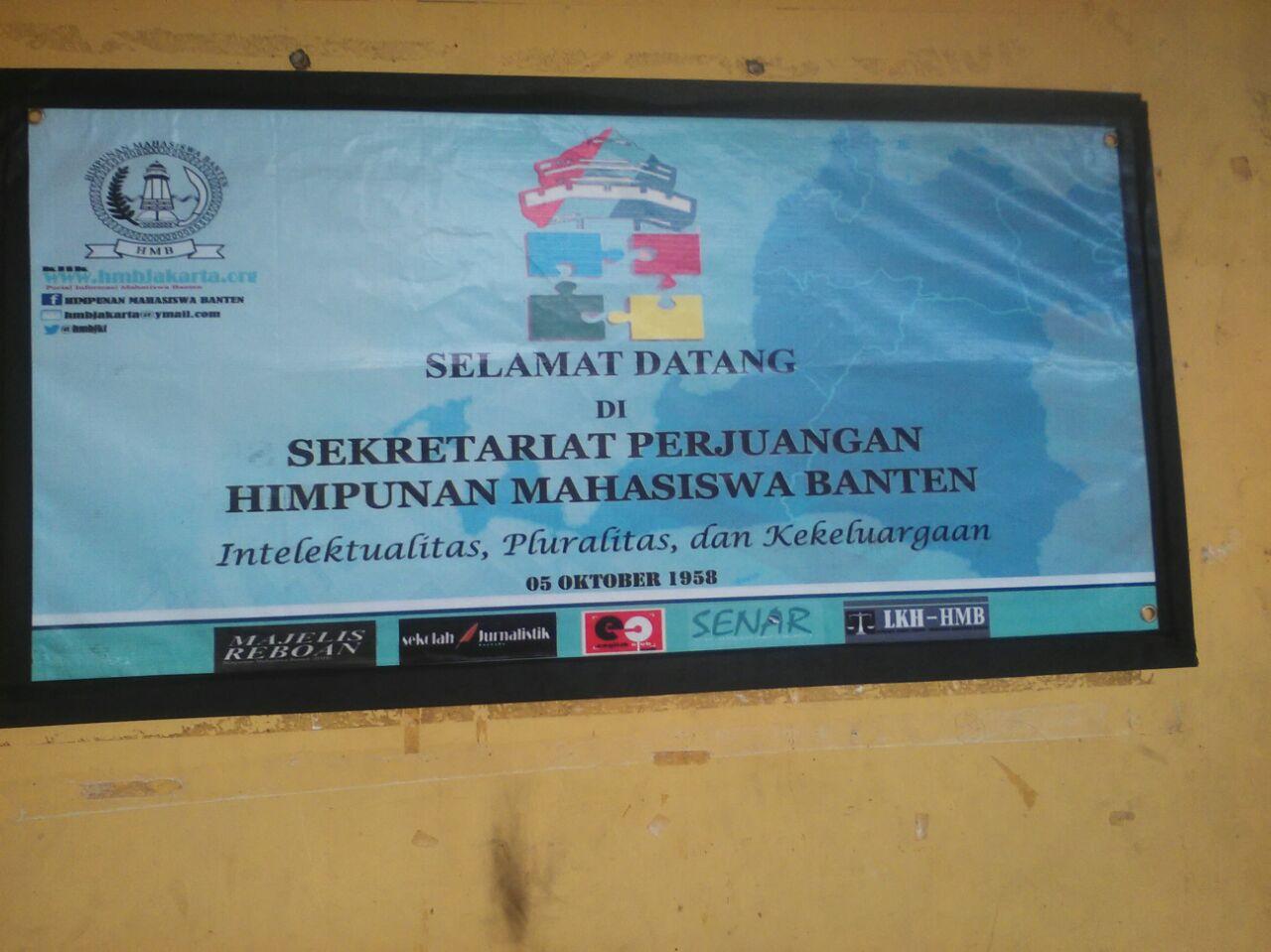 HMB Tidak Mendukung Siapa Pun dalam Pilgub Banten 2017 Mendatang