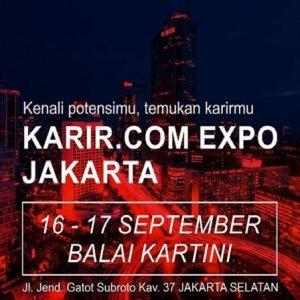 Bursa Kerja Kembali Hadir di Jakarta 16-17 September 2016