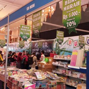 Picu Tumbuh Kembang Minat Baca Lewat Indonesia International Book Fair