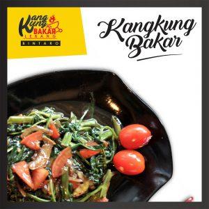 Kangkung Bakar Lebang Bintaro. Foto: istimewa