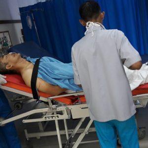 Kapolsek Cikokol mendapatkan perawatan intensif di RSUD Tangerang