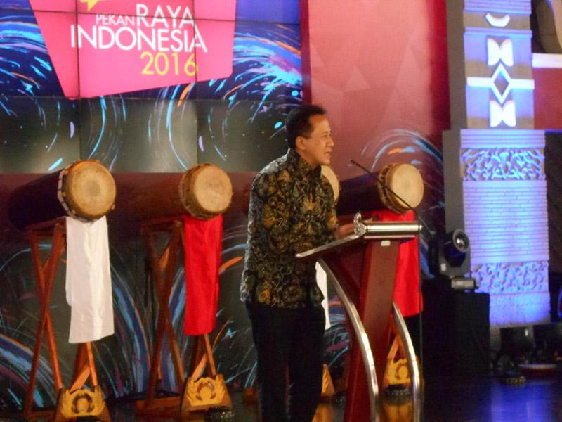 Triawan Munaf Resmi Buka Pekan Raya Indonesia di ICE BSD City