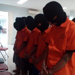 Tersangka Transaksi Narkoba Di Tangerang. Foto: TangselMedia