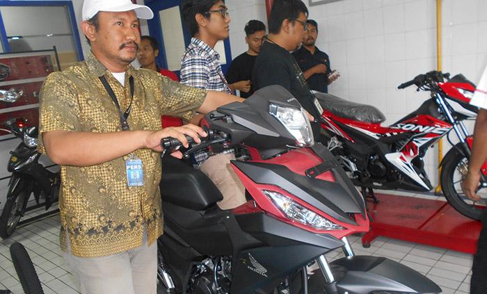 Honda Ajak Jurnalis test Drive Motornya. Foto: TangselMedia