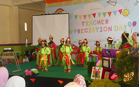 ISTIYA PMOG TKIT Auliya adakan Teacher Appreciation Day. Foto: TangselMedia