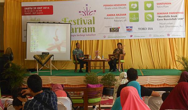 Festival Muharram dan Seminar Parenting di Aulia (29/10/16). Foto: Istimewa