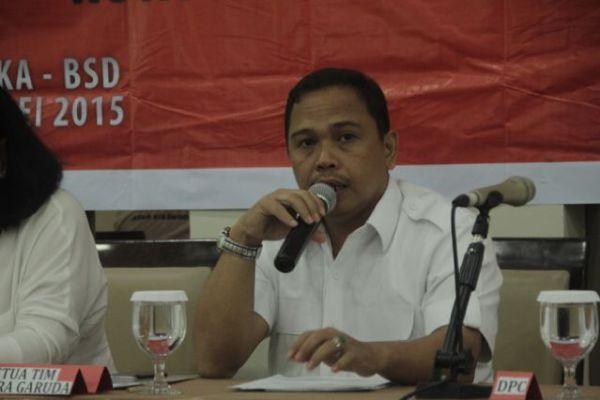 Taufik M Amin Ketua Komisi I DPRD Kota Tangsel. Foto: Palapanews