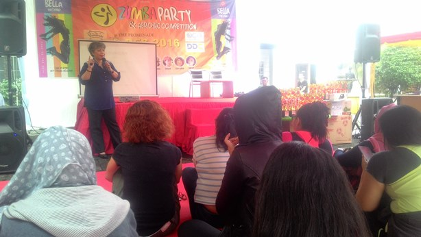 Bella Production Selenggarakan Health Talk dan Zumba Party