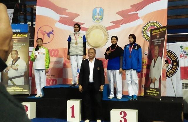 Irmayanti, Siswi MAN IC Serpong Raih Medali Perunggu pada Kejurnas Taekwondo di Surabaya