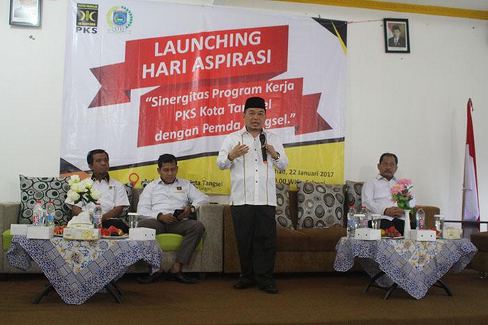Fraksi PKS DPRD Kota Tangsel Luncurkan 'Hari Aspirasi'