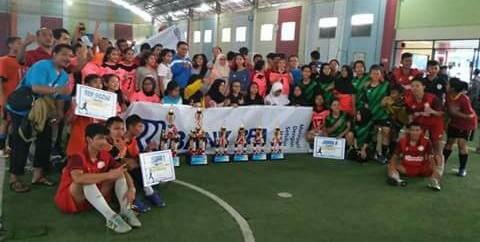 SMK Madani Juara Turnamen Futsal Antar Pelajar 'Sakha Cup' Depok