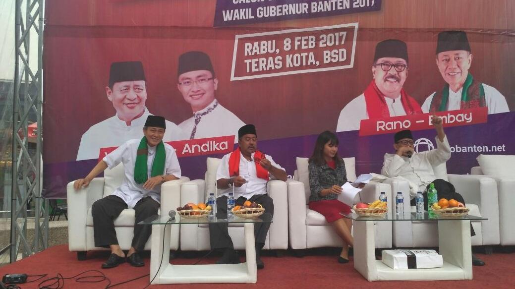 Wahidin-Andika Punya 20 Program Andalan untuk Banten