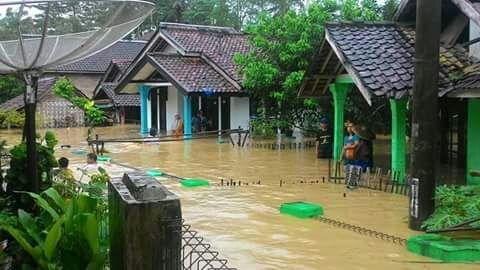 Banjir Melanda Banten, Enam Kecamatan di Lebak Terendam