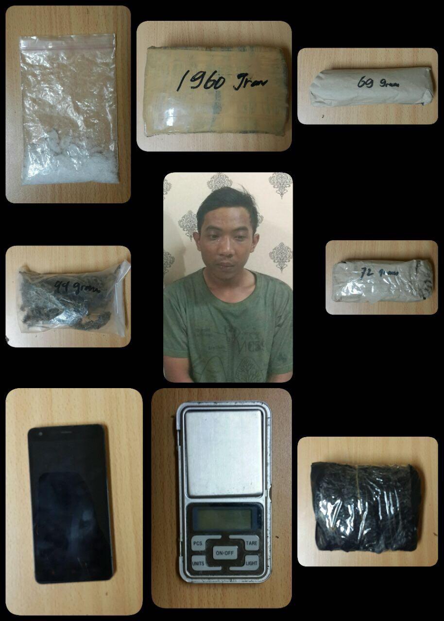 Pengedar Narkoba Berhasil Ditangkap di Kelurahan Poris Jaya