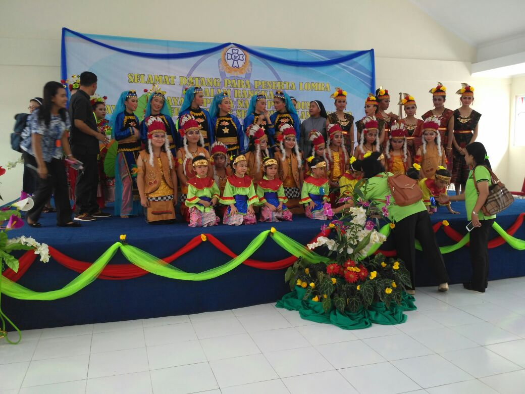 Ulang Tahun Yayasan Joseph, Sekolah Bintang Kejora Sambut dengan Aneka Perlombaan.