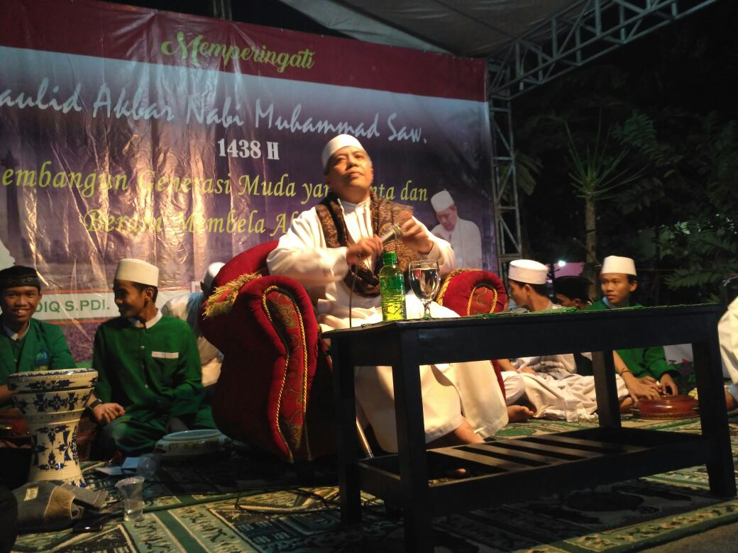 Tabligh Akbar FPI di Kampung Sawah Disambut Antusias Warga