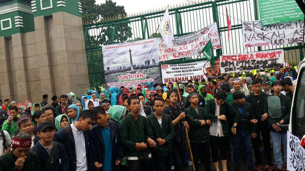 JMNU Apresiasi Aksi 212 Jilid II di Gedung DPR Berjalan Damai
