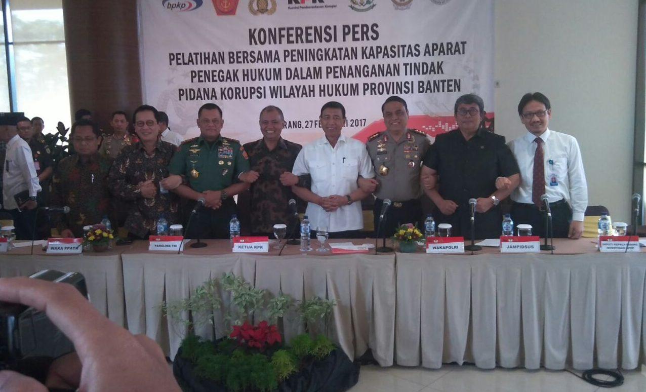 Berantas Korupsi, KPK Tingkatkan Kapasitas Apgakum Provinsi Banten
