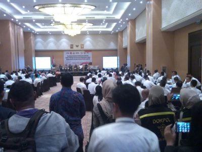 Menko Polhukam Buka Pelatihan Peningkatan Apgakum Banten di Tangsel