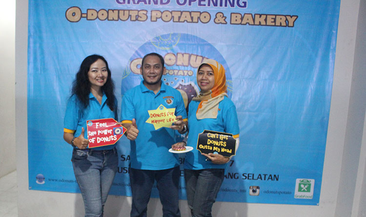 O-Donuts Potato & Bakery Adakan Grand Opening Outlet Ke-1