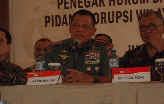 Panglima TNI: Tahun Lalu Narkoba, Tahun Ini TNI Fokus Bersih-Bersih Korupsi