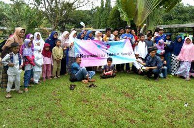 Piknik Ceria Bersama Anak Yatim Komunitas 'Jalan Bagi'